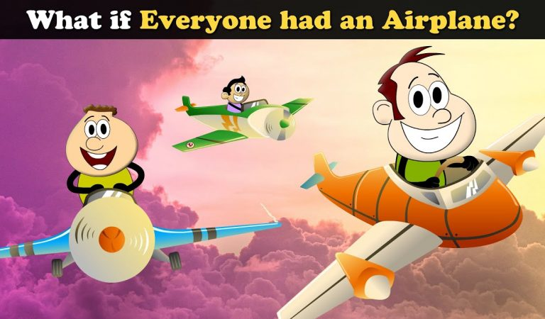 What if Everyone had an Airplane? + more videos | #aumsum #kids #children #education #whatif