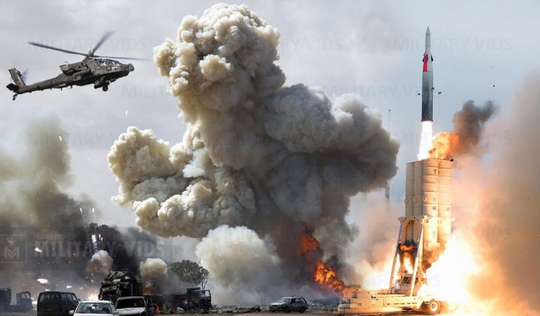Breaking News! Nuclear War Begin, US Navy Fired 7 Trident Missile Targeting China Navy Base Near SCS